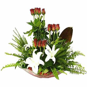 Lilyum ve güller