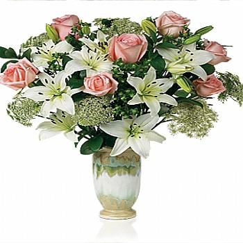 Güller ve lilyumlar