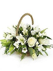 Beyaz Lilyumlar ve Beyaz güller